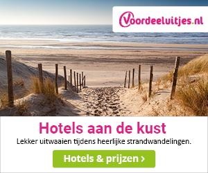 voordeeluitjes hotels aan de kust banner