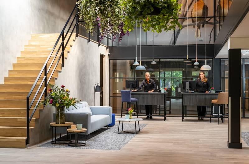 Bilderberg hotel met hond -'t Speulderbos-Veluwe - receptie